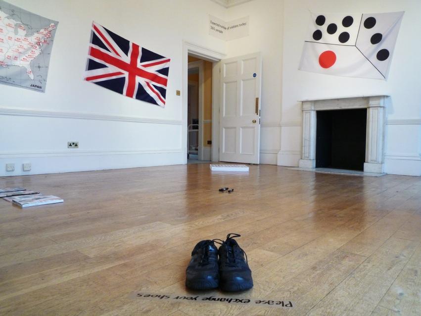 橋本 聡 : 国家、骰子、指示、 (Daiwa Foundation Japan House、ロンドン)