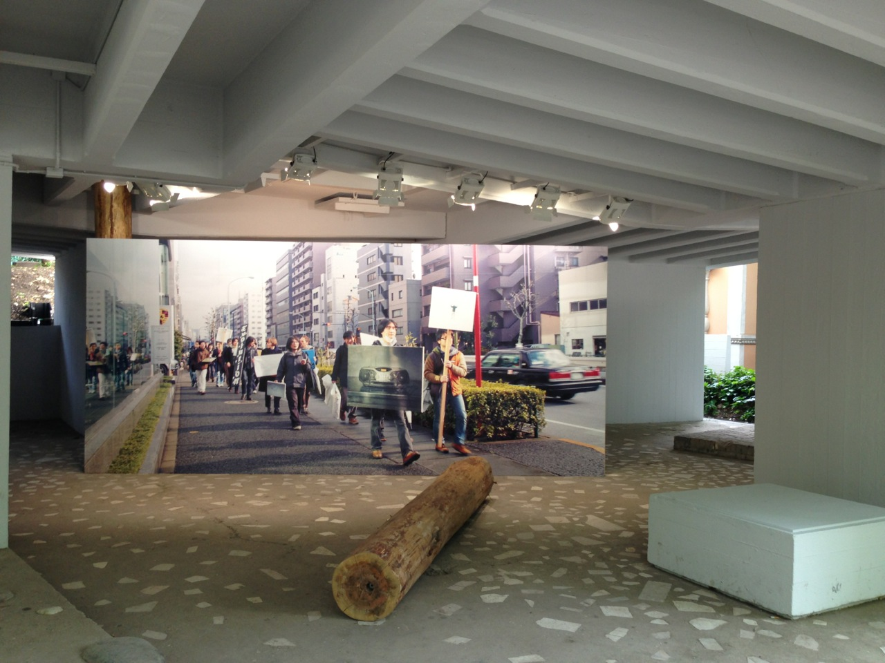 Japan Pavilion received a special mention at The 55th  Venice Biennale.
