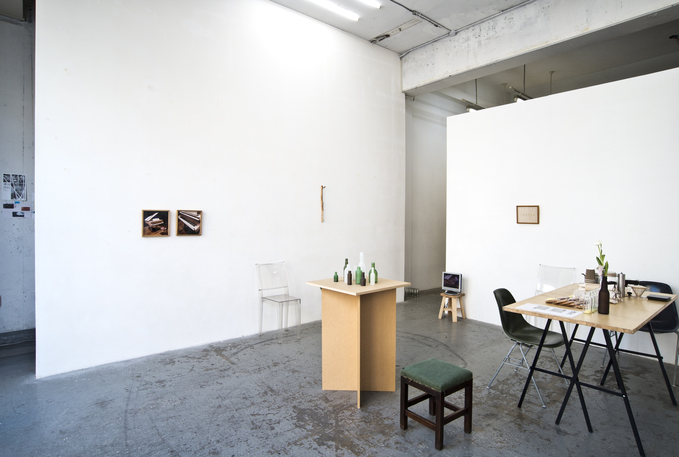 Installation view : 青田 真也 2014
