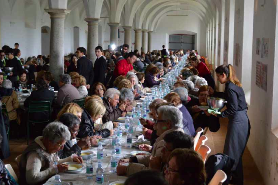 500人のおばあちゃんのランチ ポルトガル