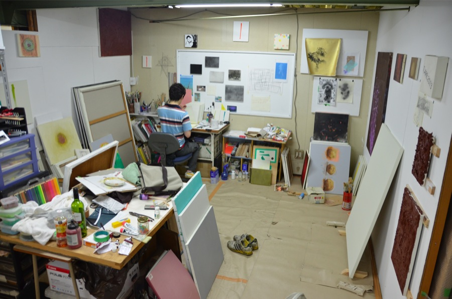 佐藤 純也 参加:042 art area project 2015  SUPER OPEN STUDIO(橋本、東京)