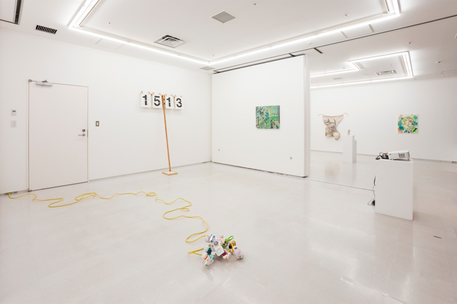 Installation view:I'm sorry please talk more slowly