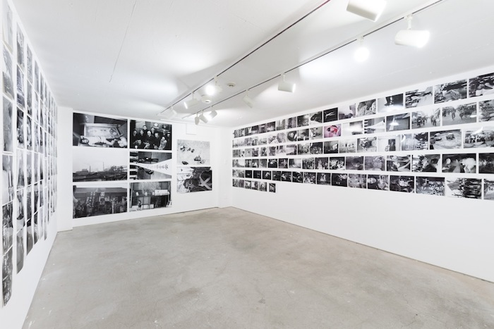 Installation view, 羽永光利一〇〇〇(NADiff A/P/A/R/T、恵比寿)