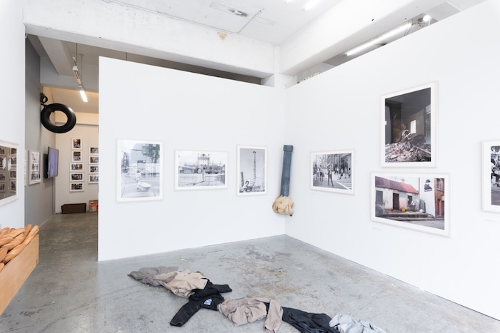 "Installation view, Tatsumi ORIMOTO: From ""Carrying series"""