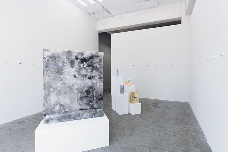 Installation view, Junya Sato: I memorize one thing, and forget eight things