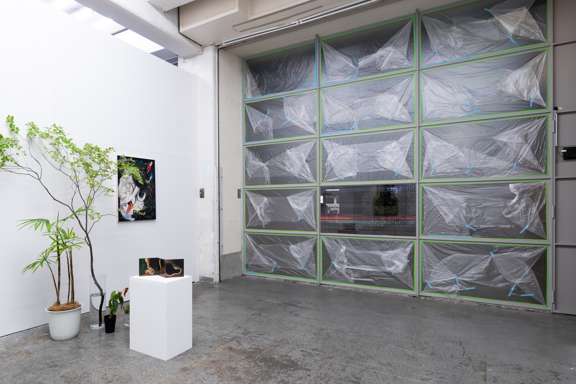 Installation view, Sans Filet